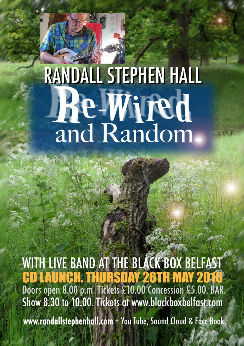 Rewired and Random: An Evening With Randall Stephen Hall @ The Black Box