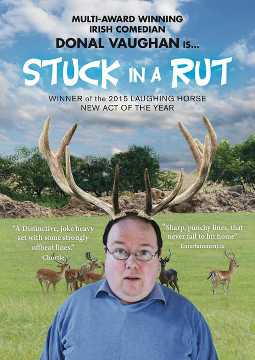 Comedy Lab - Donal Vaughan: Stuck in a Rut @ The Green Room