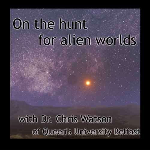 Belfast science Cafe: On the Hunt For Alien Worlds @ The Green Room