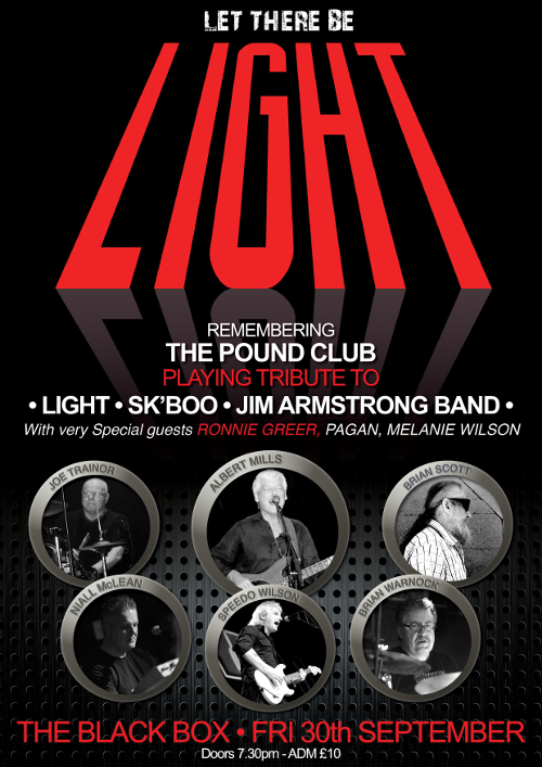 Let There Be Light: Remembering The Pound Club @ The Black Box