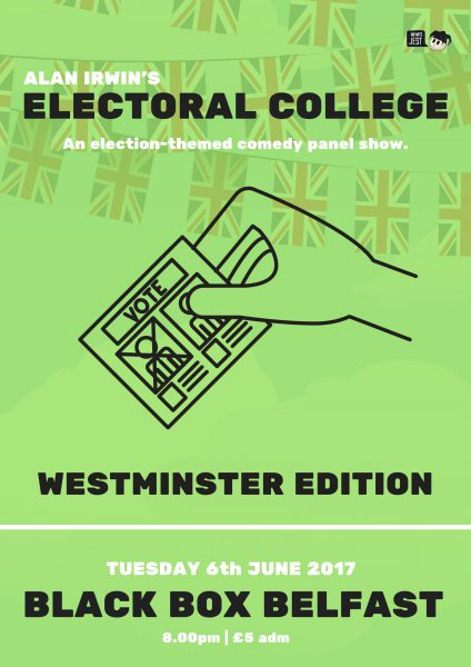 Alan Irwin's Electoral College III: Westminster Edition @ The Green Room