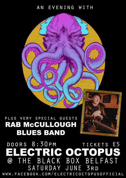 An Evening With Electric Octopus @ The Black Box