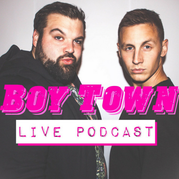 Shane Todd & Dave Elliott: Boy Town Podcast Live @ The Green Room