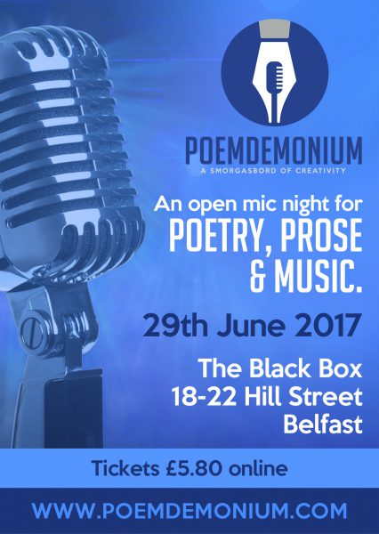 Poemdemonium Flyer Side 2
