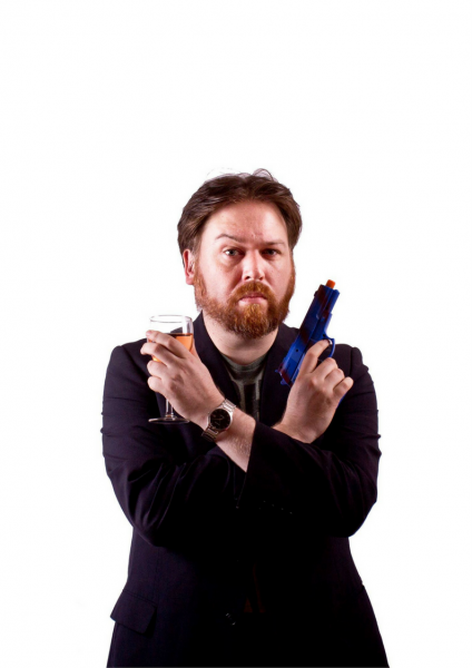 Comedy Lab: Peter Davidson – Guns N' Rosé @ The Green Room