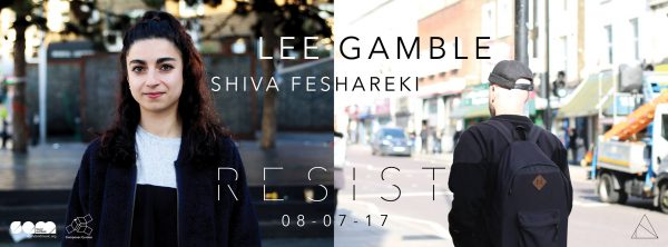 RESIST PRESENTS - LEE GAMBLE & SHIVA FESHAREKI @ The Black Box