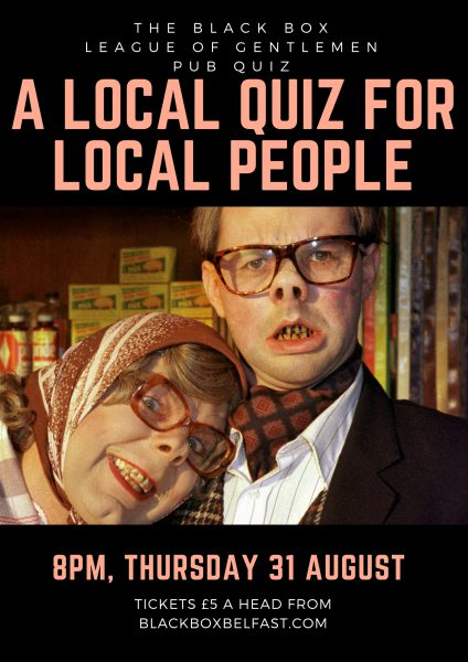 A LOCAL QUIZ FOR LOCAL PEOPLE
