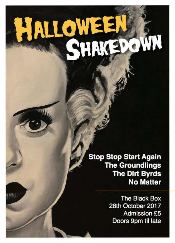 Time To Be Proud's Halloween Shakedown @ The Black Box