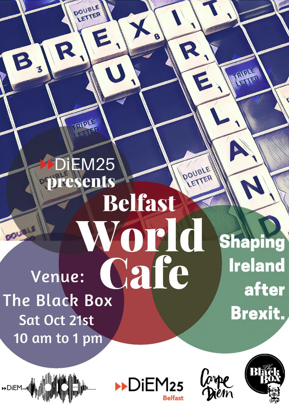 Belfast World Cafe - Shaping Ireland after Brexit @ The Green Room