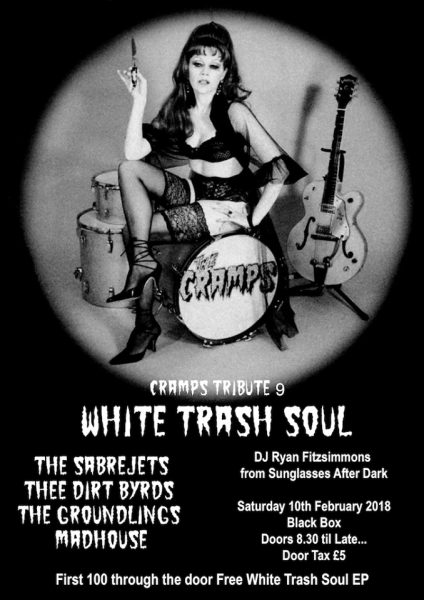 "The Cramps Tribute 9 ""White Trash Soul"" @ The Black Box"