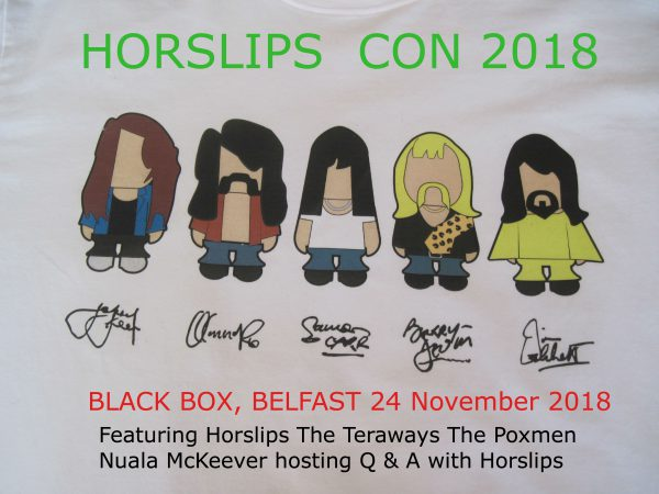 HORSLIPS CON 2018- SOLD OUT @ The Black Box