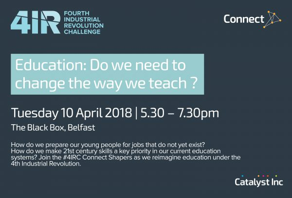 4IRC Education: Do we need to change the way we teach? @ The Black Box