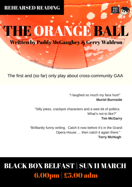 The Orange Ball (Rehearsed Reading) @ The Green Room