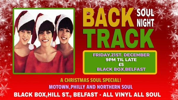 Back Track Soul Night @ The Black Box