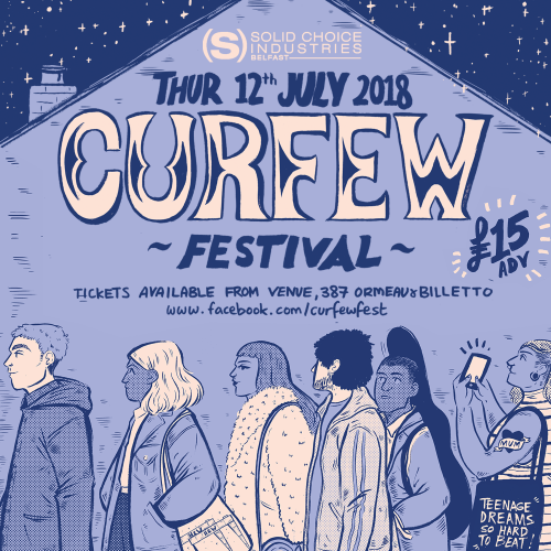 CURFEW FESTIVAL @ The Black Box