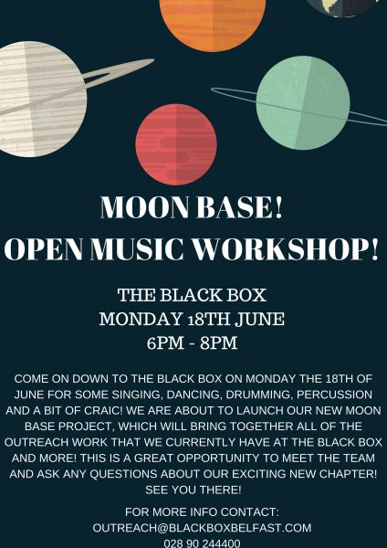 Open Music Workshop @ The Black Box