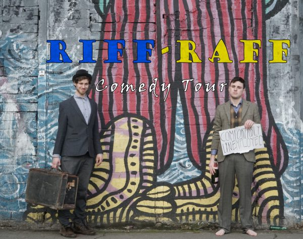 Comedy Lab: Riff Raff Tour – Oisín Hanlon and Michael Rice @ The Green Room