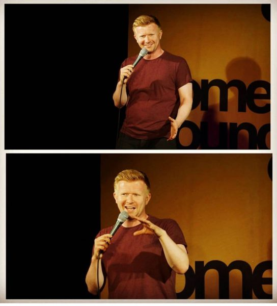 Comedy lab: Darren Matthews: Whiskey and Ginger Male @ The Green Room