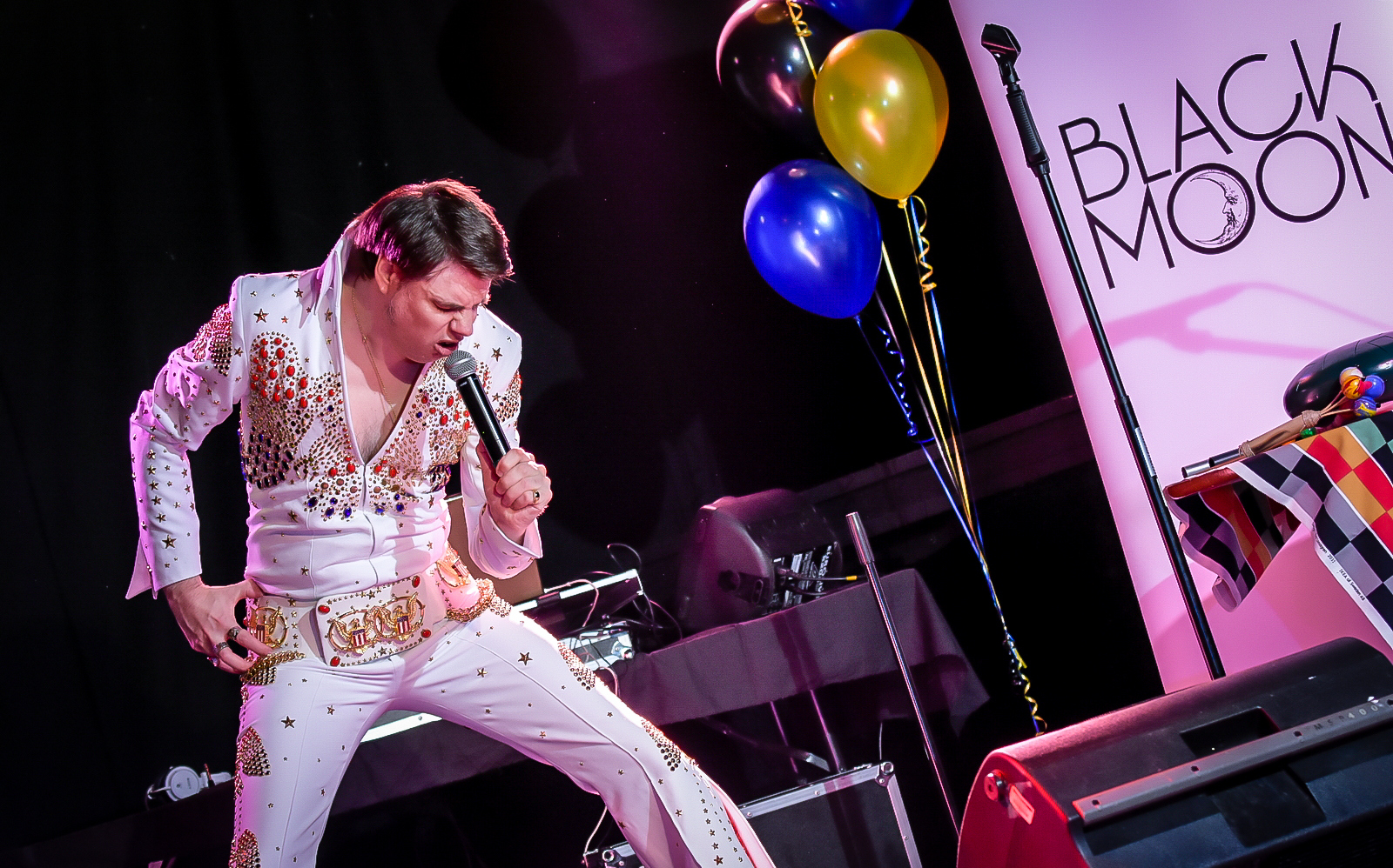 Full Moon Festival - Trevor Lemon - Elvis @ The Black Box