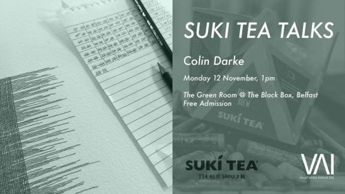 Suki Tea Talks - Colin Darke @ The Green Room