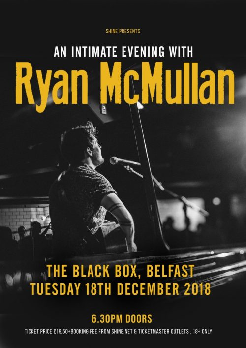 An Intimate Evening with Ryan McMullan @ The Black Box