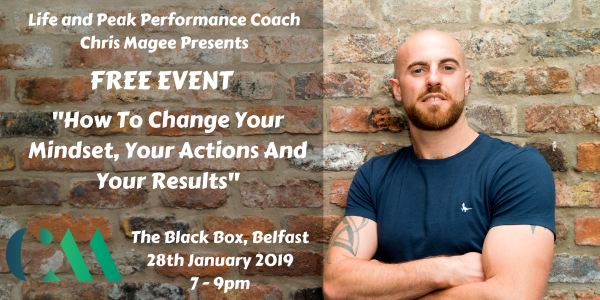 How to Change Your Mindset, Actions and Get Results @ The Green Room