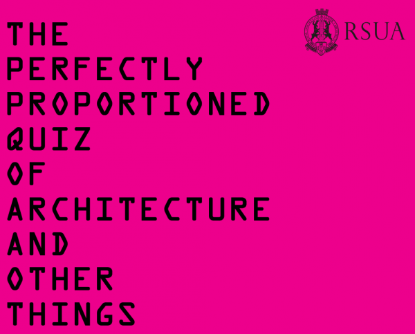 The perfectly proportioned quiz of Architecture @ The Black Box