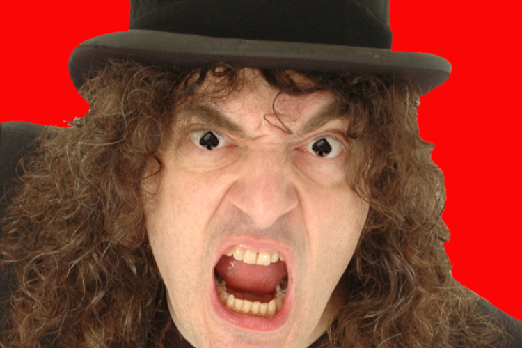 SOLD OUT-CQAF-Jerry Sadowitz @ The Black Box