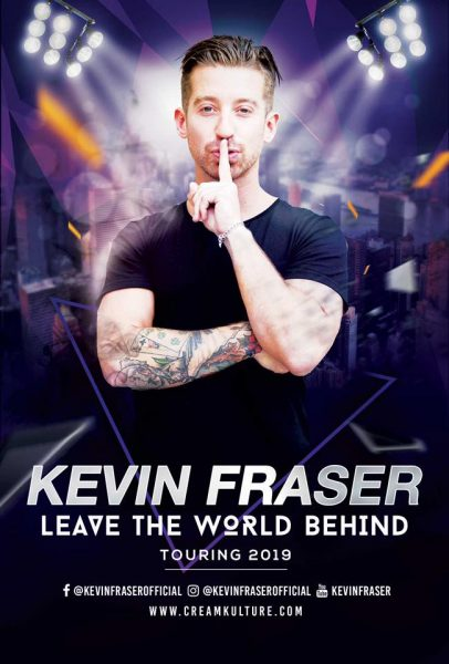Kevin Fraser- Leave The World Behind. @ The Black Box