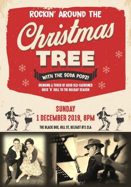 Rockin' around the Christmas Tree with the Soda Popz! @ The Black Box