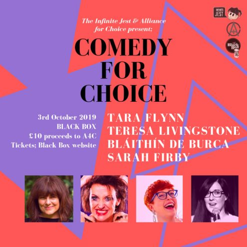 comedy for choice @ The Black Box