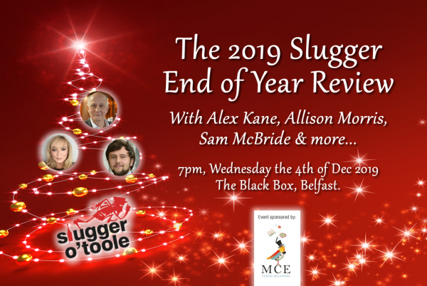 Slugger O'Toole End of Year Review