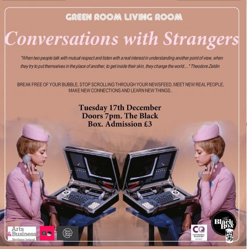 The Green Room Living Room - Conversations With Strangers @ The Green Room