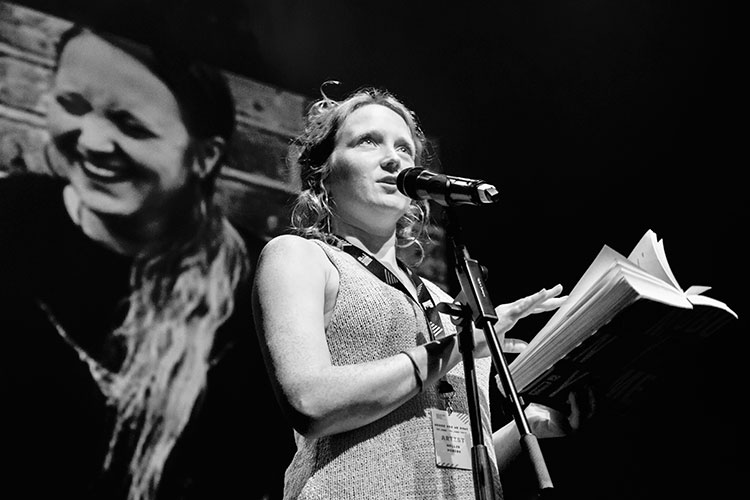 CQAF-Hollie McNish: Slug Tour 2021