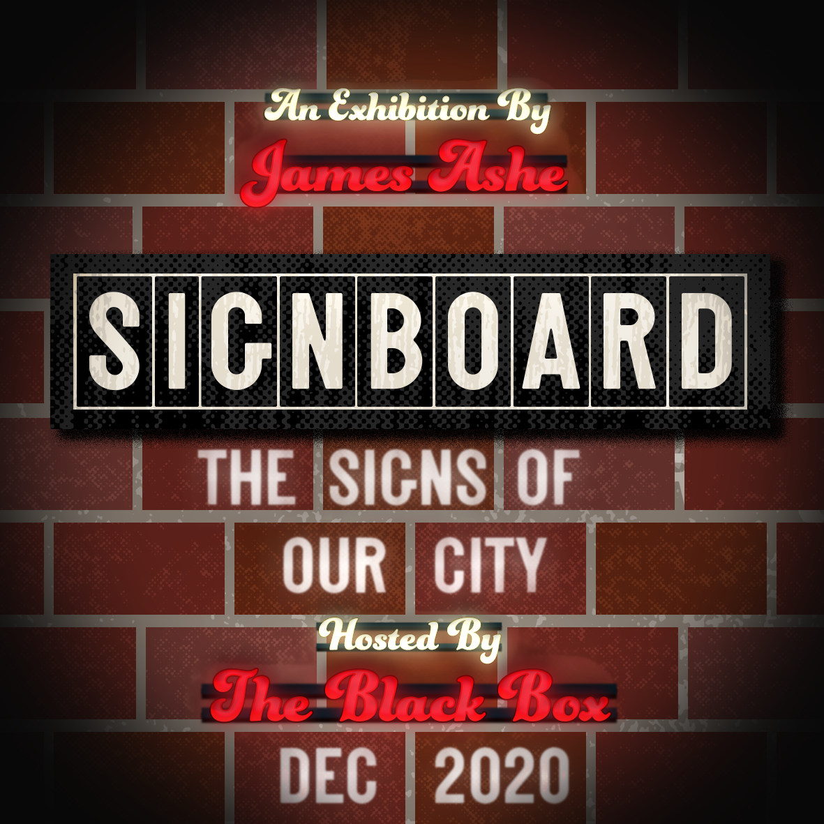 Online Exhibition- James Ashe-Signboard